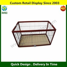 "Deluxe Folding Wood Pet Dog Pen - 46"" YM5-560"