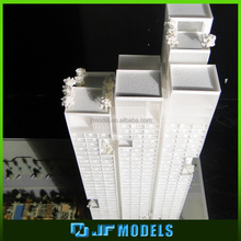 Architectural city land planning model rendering