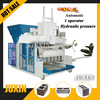 construction equipment QMY12-15 mobile brick machine/zenith concrete block machine/hollow brick making machine
