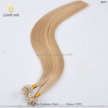 """New Arrival Alibaba Online Italian Glue Wholesale Double Drawn Remy micro ring hair extensions 22"""" aaaa"""