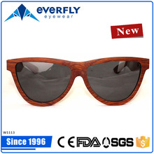 Red wooden eyeglass frames,2015 popular designer sun glass fashion style