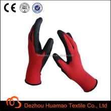 super fit pu dipped safety glove 13g PU glove
