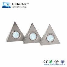 3 Piece Triangular energy saving G4 led light puck