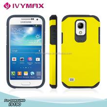protector para celulares for samsung s4 mini/i9190 exclusive slim armor combo case