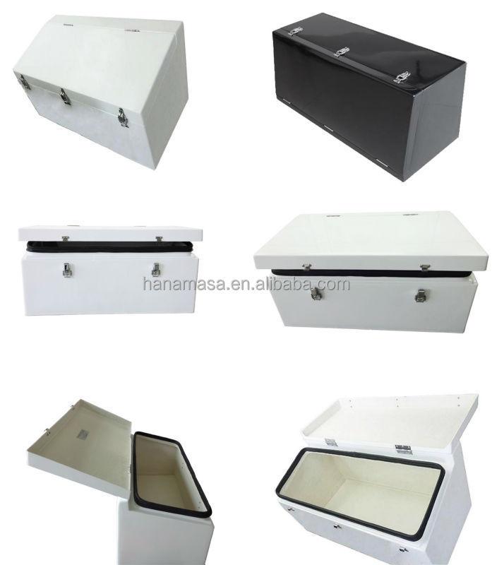 Fiberglass truck box