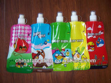 2012 newest foldable water bottle with hook