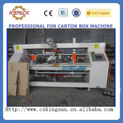 JGS-06022 jin guang factory carton box making machine prices/single Corrugated cardboard stiching machine