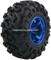 1/10 rc car tyres dirft wheels for big foot truck monster radio control toys wheel 4pcs/set -kbw0020b