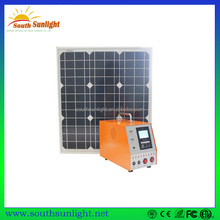 30W solar module system,mini home solar power system for home,portable solar system