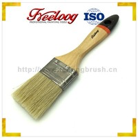 Wholesale hydrophobic wall paint brush, white bristle cleaning paint rushes
