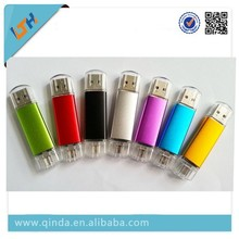 New Arrival Usb flash driver with 4GB/8GB/16GB/32GB/64GB capacity special for Smart Phone Can Do Your Own Logo
