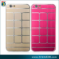 """Lattice design aluminum metal phone case for iphone 6 4.7"""""""