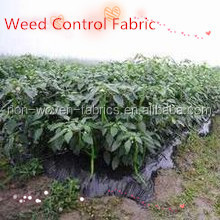 Needle punched pp woven weed mat