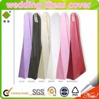 2015 China Supplier Non Woven Wedding Dress Cover Bags