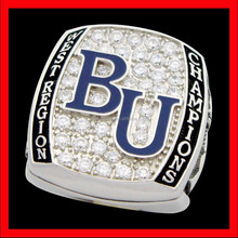 BU state championship ring custom league champions ring with player name deeper engraving