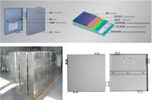 Kinds of design spray coating after shaped solild aluminium sheet
