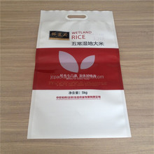 Customized rice packaging bag/5kg plastic printing rice packaging bag