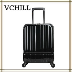 low price classic hardside luggage suitcase rolling trolley luggage bag
