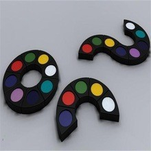 Water based feature make up fancy dress six colors face paint