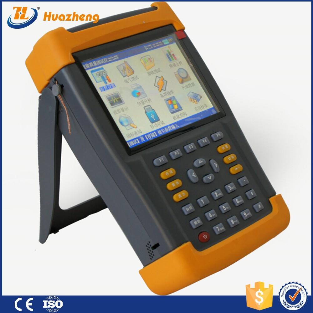 Hz LCD numérique multifonctions Power Quality Analyzer