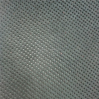 Ventilated punching small holes PU leather for sport shoes DH237