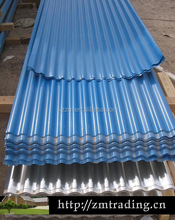 Hot dipped galvanized corrugated steel sheet with thickness 0.12mm-0.8mm corrugated roof sheet
