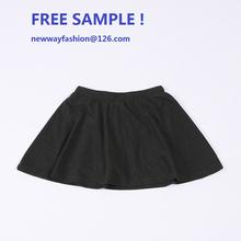 free sample! 2015 new fashion design children's t-shirt + skirt one piece, cute design