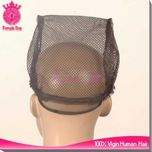 factory cheapest strong black mesh weaving wig cap for wig