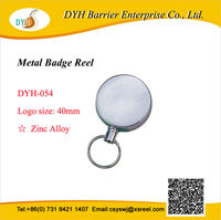 Promotional heavy duty id holder keychain