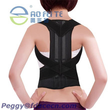 Lower Back Posture Vest With CE & FDA Certificate Plastic Back Brace Postural Body Shaper Leather Body Shaper New product