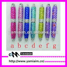 Fancy bling writing pen Rhinestone Ball Pen, Fashion Gift