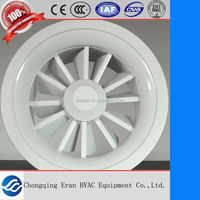 air condition aluminium round swirl diffuser