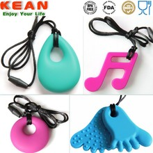 Teething Pendant/FDA Approved Chewable Silicone Jewelry Baby Stuff
