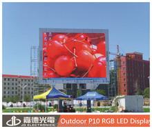 Factory Price p10 big led billboard