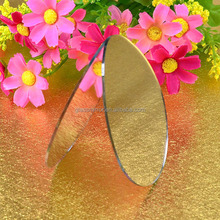 Art decorative Mirror glass sheet ,ladies makeup mirror,colored mirror glass sheet # (ZOF-3771)