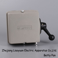 Electric motor Reversing Switch single or 3 phase 32amp 4 Pole Lathe car lift GZ-32P/3