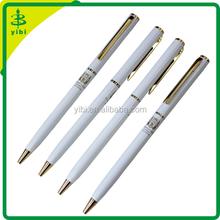 JD-X088 hot-selling slim twist metal ballpoint hotel advertising pen