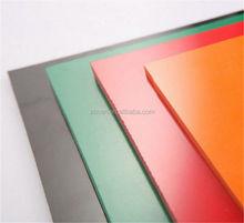 pvc cover plastic sheet/pet pvc laminate sheet
