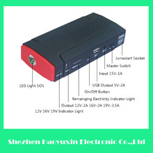 400A peak current 13800mah high quality high security 12v survival emergency booster jump starter