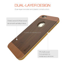 for iphone 6 wood case, wood case for iphone 6plus, professional mobile phone case factory