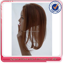 Factory Price Best Quality 14 inch 100% Human Hair Brazilian Human Hair Topper Wig