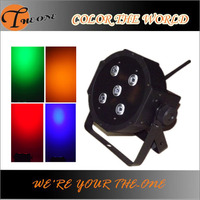 CE &RoHS wireless dj effect light rgbwa slim led par 64