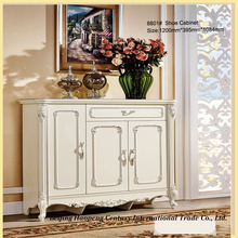 luxury custom made antique hallway shoe cabinet