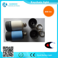 Mini Micro LED Keychain Key Ring Super Flash Bright Flashlight Torch Light - Great for Home, Travel and Outdoor Use