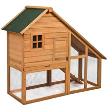Two Layer Wooden Animal Cage With Removed Roof