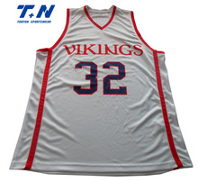 New style wholesale custom latest basketball jersey design