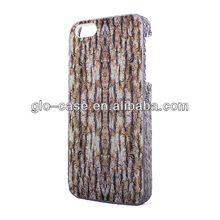 Wholesale 3D TREE SKIN Phone Case for iPhone 5S, Mobile Phone Case for iPhone 5S