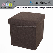 Modern fabric storage desk chair ottoman