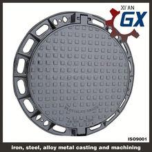 bituminous painted german black bitumen coated iron casting manhole cover