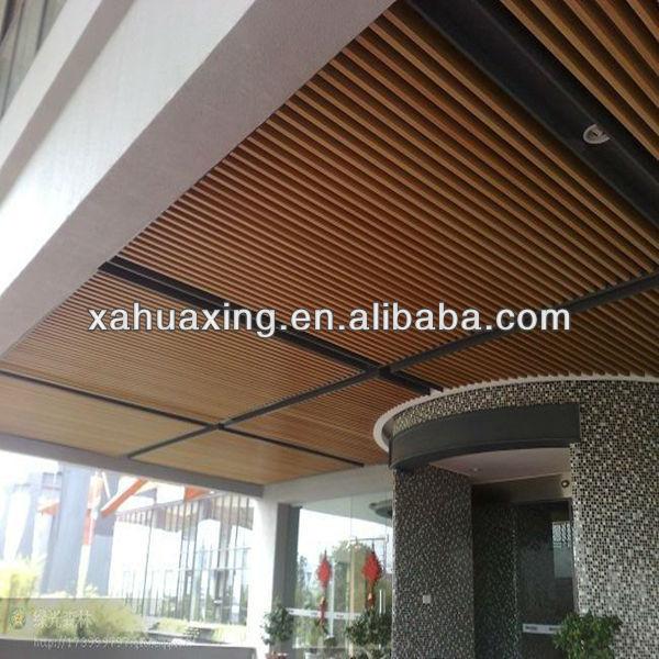Wooden Plastic Composite Wpc Ceiling Design Buy Wpc